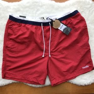 Cotton on Red Swim Trunks Size Large NWT